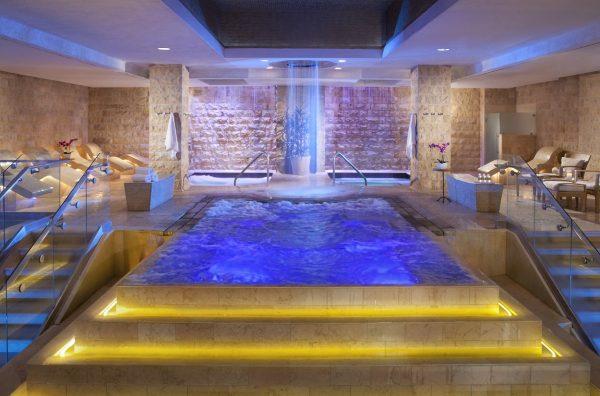 Roman Baths at Qua Baths at Caesars Palace Las Vegas. Photo courtesy Caesars Entertainment