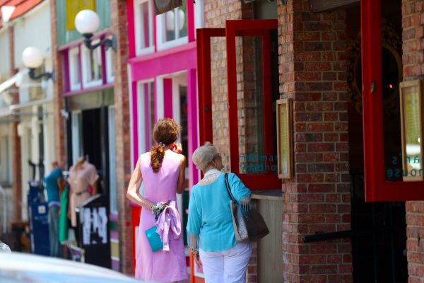 Shopping the Bishop Arts District. Photo courtesy Dallas CVB