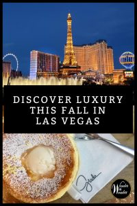 Las Vegas is one of the world's best destinations, with gourmet dining, luxury resorts, and top spas. These are my favorite ways to savor fall in Las Vegas. #luxury #romantictravel #travel #LasVegas
