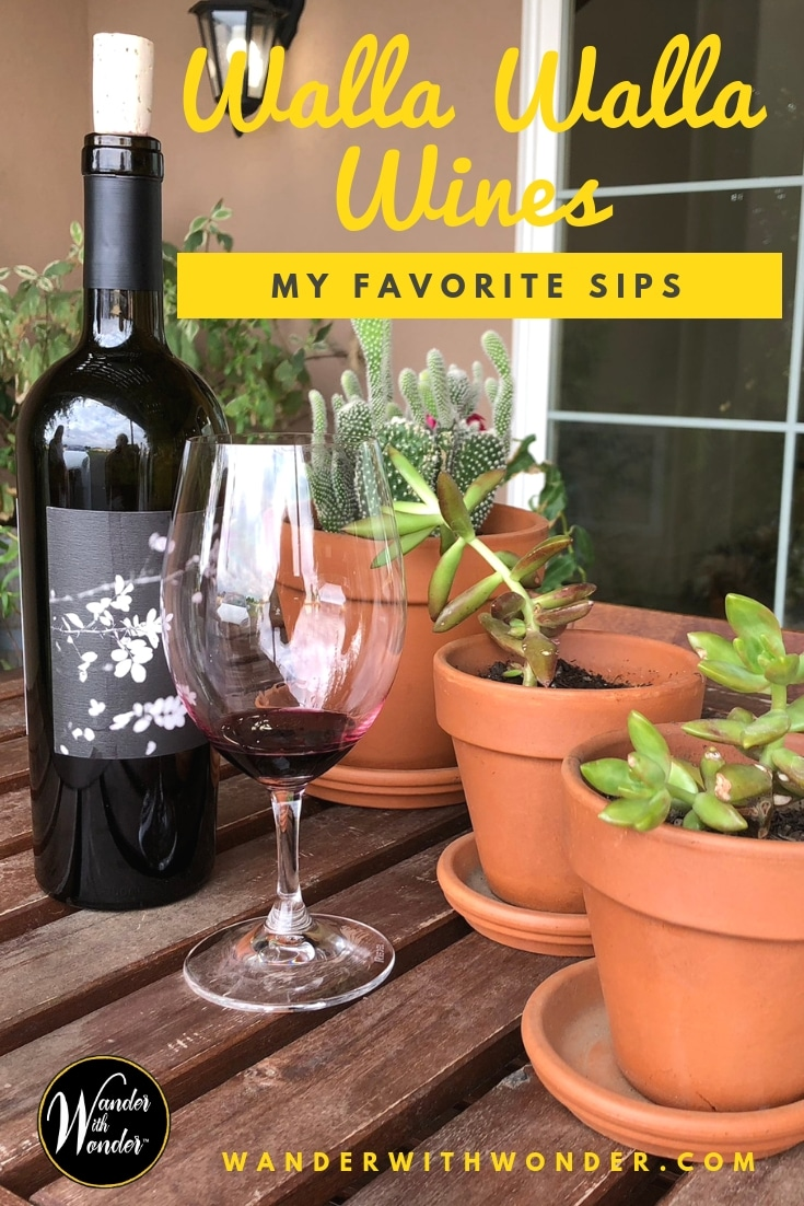 Here are a few of my favorite Walla Walla Washington wines, from a valley filled with great wines, interesting people and beautiful landscapes. #Washington #WashingtonWines #winetasting #WWander #WallaWallaWine #PNW #sponsored