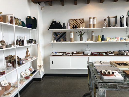 Walla Walla Wines - Gift shop at Foundry Vineyards Tasting Room offers unique finds. Photo by Susan Lanier-Graham
