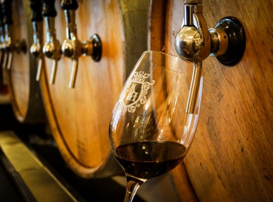 Be sure to visit Messina Hof Winery on Grapevine's Urban Wine Trail. Photo courtesy Grapevine CVB