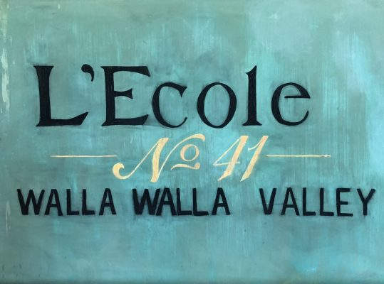 Walla Walla Wines - L'Ecole No 41 Sign by Susan Lanier-Graham