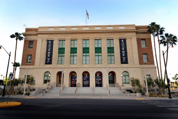 Mob Museum in Las Vegas. Photo courtesy LVCVA