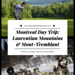 The next time you're in #Montreal, plan at least oneday for a trip to the Laurentian Mountains and Mont-Tremblant. Depending on what time of the year you visit, your wow day trip from Montreal can include hiking, biking, zipline, skiing, snowmobiling or even dog sledding. #winter #adventuretravel #summer #familytravel #Quebec #Mont-Tremblant #skivacation