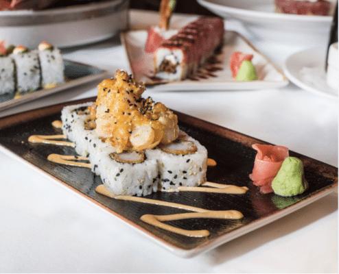 Sushi at Ocean Prime. Photo courtesy Ocean Prime
