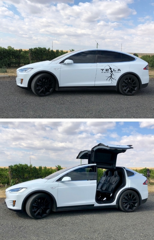 Walla Walla Valley Wines - Tesla Winery Tours provides a great ride through the Walla Walla Valley in the Tesla Model X 90D and the expert advice of owner Chris Wood. Photos by Susan Lanier-Graham