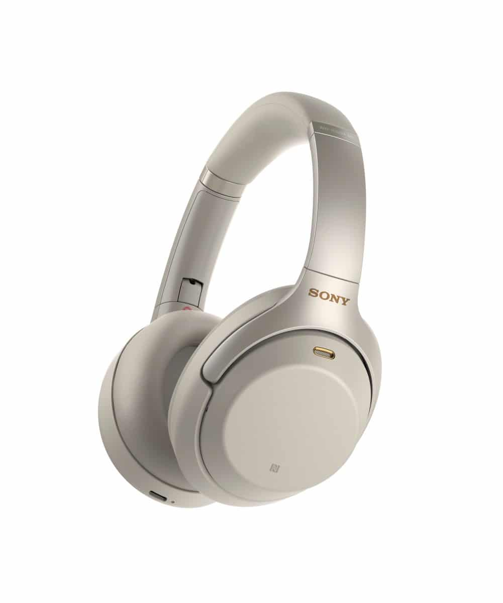 Sony 1000XM2 Noise-Canceling Headphones in Rose Gold. Photo courtesy Sony