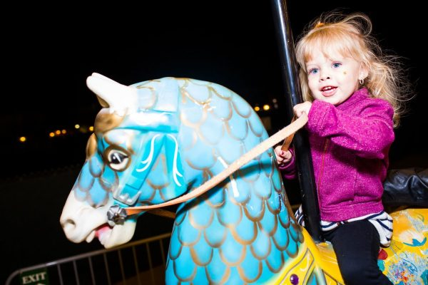 Head to the Christmas Carousel during Christmas at The Princess. Photo courtesy Fairmont Scottsdale Princess