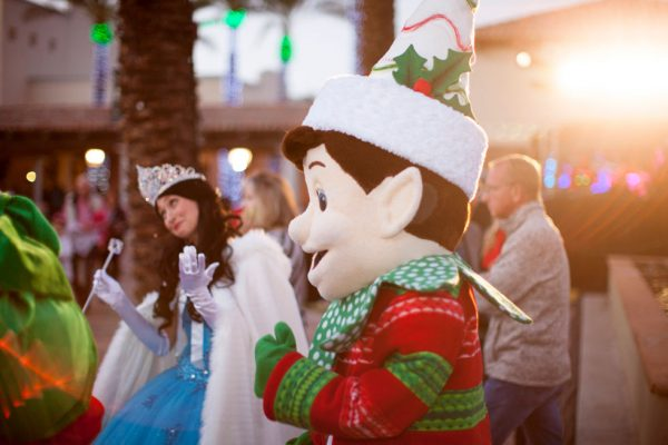 Take your photo with Selfie Elfie and Princess Noel during Christmas at The Princess. Photo courtesy Fairmont Scottsdale Princess