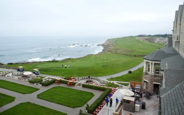 San mateo - Silicon Valley - Half Moon Bay - View from Ritz-Carlton Half Moon Bay. Photo by Susan Lanier-Graham
