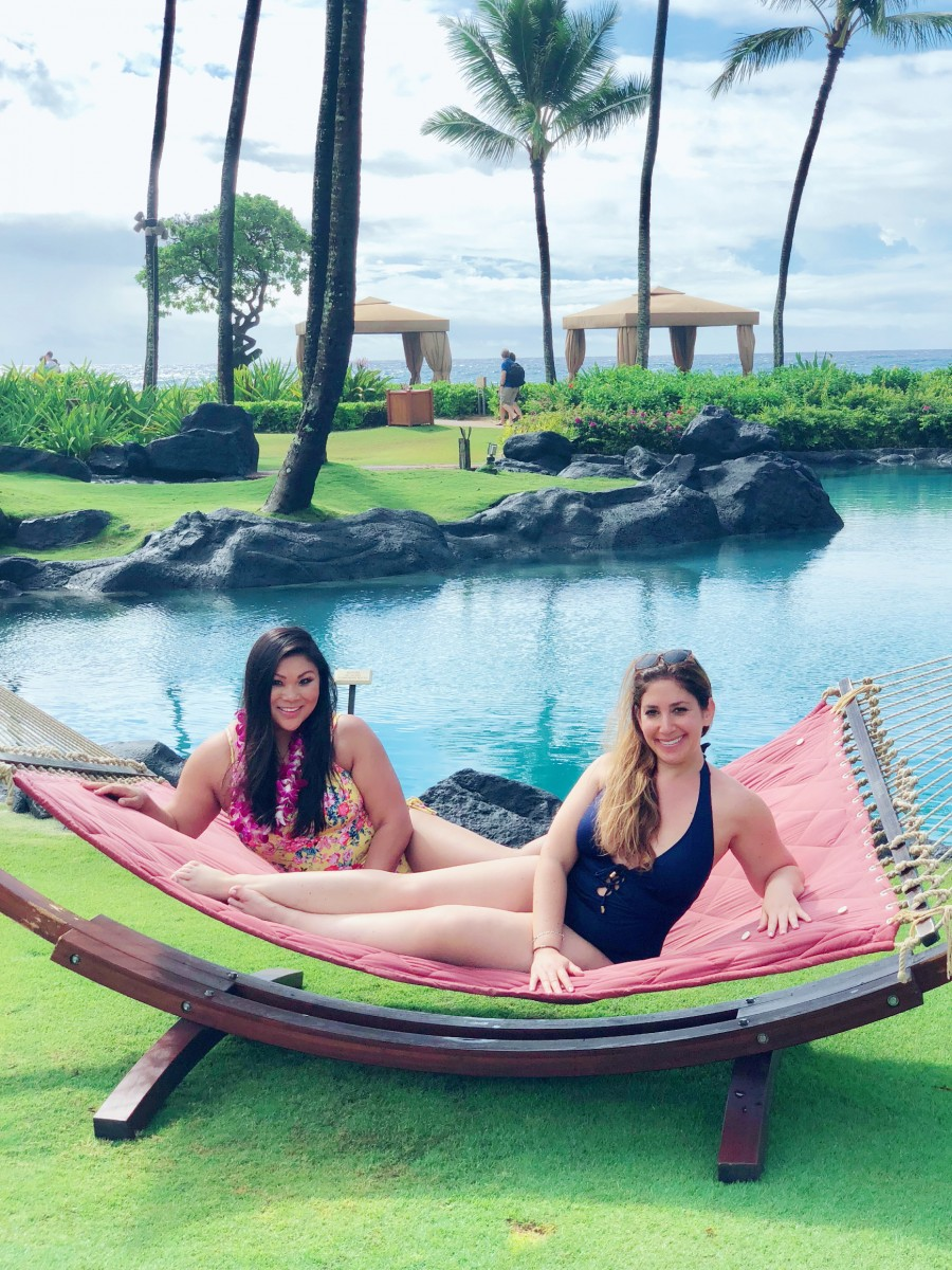We loved the Instagram-worthy moments at Grand Hyatt Kauai Resort and Spa during our ultimate BFF getaway on Kauai
