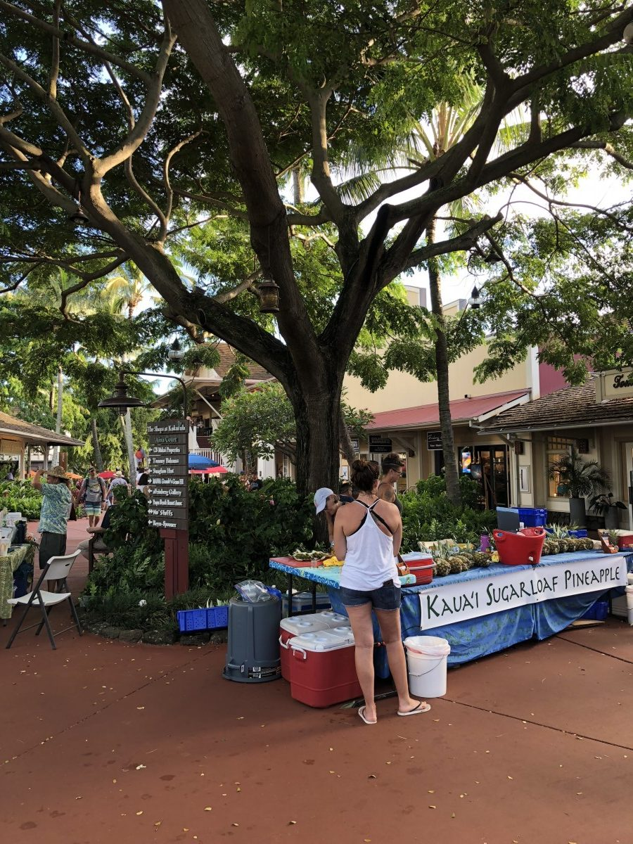 Visit the Kauai Culinary Market at The Shops at Kuku'ula during your ultimate BFF getaway on Kauai. Photo by Jill Schildhouse