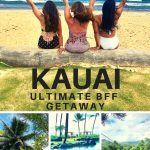 Discover the ultimate BFF getaway on Kauai, where you can enjoy both peaceful rejuvenation and exciting outdoor recreation all on one fabulous island. Go ziplining, horseback riding on the beach, hang in the spa, and discover amazing food flavors. #adventure #travel #Hawaii #Kauai #girlfriends #islands #beachvacation