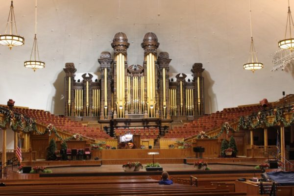 Temple Square Organ - Salt Lake City Christmas