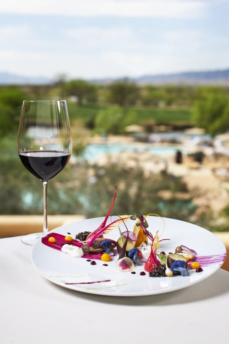 KAI offers great flavors and amazing desert vistas. Photo courtesy Sheraton Grand at Wild Horse Pass