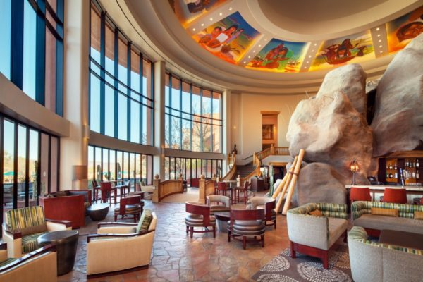 Lower Lobby at Sheraton Grand at Wild Horse Pass. Photo courtesy Sheraton Grand at Wild Horse Pass