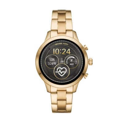 I have the gold-tone Michael Kors Access Runway Smartwatch.