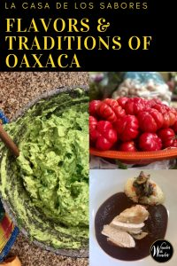 People travel to Oaxaca, Mexico to experience the local culture, historical insights, and gastronomic adventures. A cooking class at Casa de Los Sabores is the perfect way to experience the flavors and traditions of Oaxaca. A must-do for your foodie bucket list! #oaxaca #mexico #foodie #internationalfood #mole #cooking #cookingclass