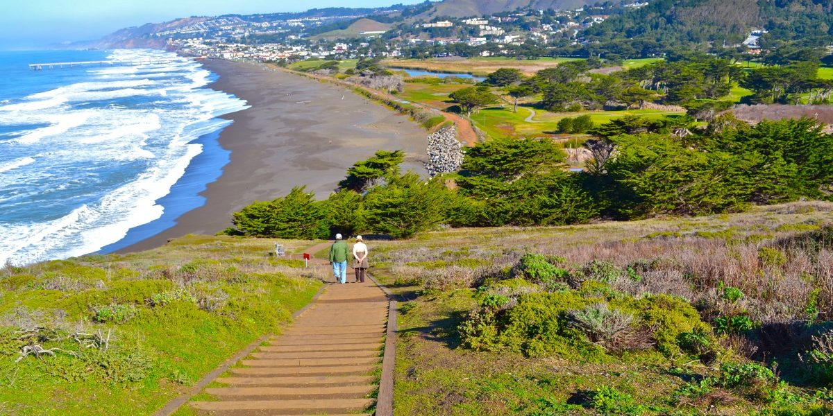 Mori Point in Pacifica, CA. Photo by Carol Camacho