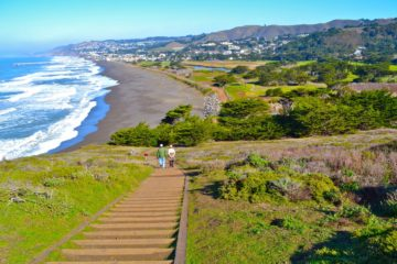 Mori Point in Pacifica, CA. Photo by Carol Camacho