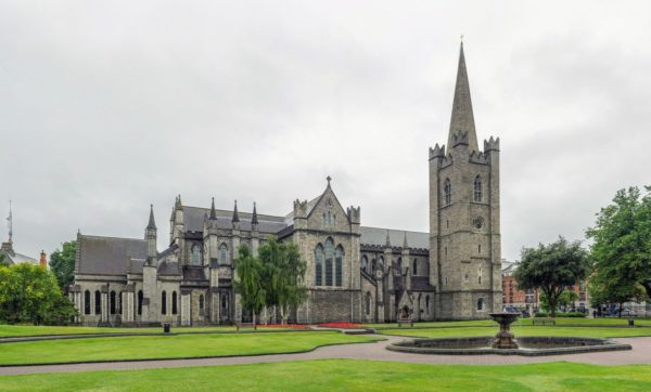 St. Patrick's Cathedral in Dublin is a great spot to visit on a trip to Ireland. Photo courtesy Creative Commons