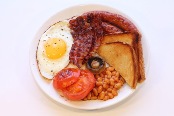 You simply must try a traditional Irish breakfast during a trip to Ireland. Photo courtesy Creative Commons