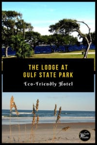 The newLodge at Gulf State Park, a Hilton Hotel, offers a calming stay. The Gulf Shores, Alabama property is also eco-friendly. #Alabama #greenhotels #GulfStatePark #GulfShores #CoastalHotel #hotels