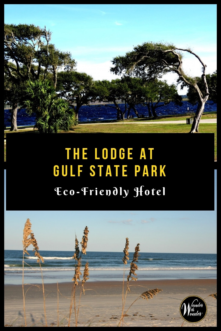 The new Lodge at Gulf State Park, a Hilton Hotel, offers a calming stay. The Gulf Shores, Alabama property is also eco-friendly. #Alabama #greenhotels #GulfStatePark #GulfShores #CoastalHotel #hotels