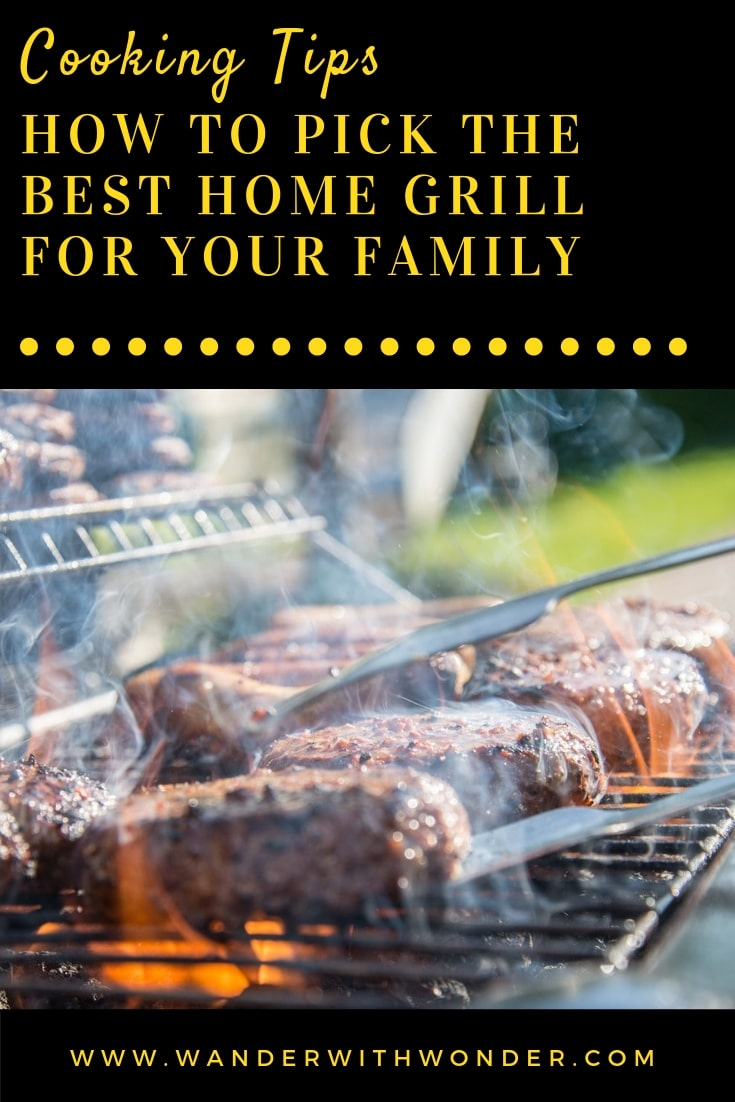 Picking out a home grill may seem like a no-brainer, but it pays to do some thinking first. Here are our tips on picking the perfect home grill. #cookingtips #cooking #grill #grilling #family