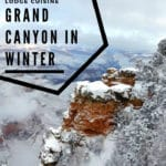 During a Grand Canyon winter, there may be snow on the ground, and sometimes an icy nip in the morning air, but the canyon's grandeur can be all yours. #GrandCanyon #Arizona #winter #NPS #NationalParks