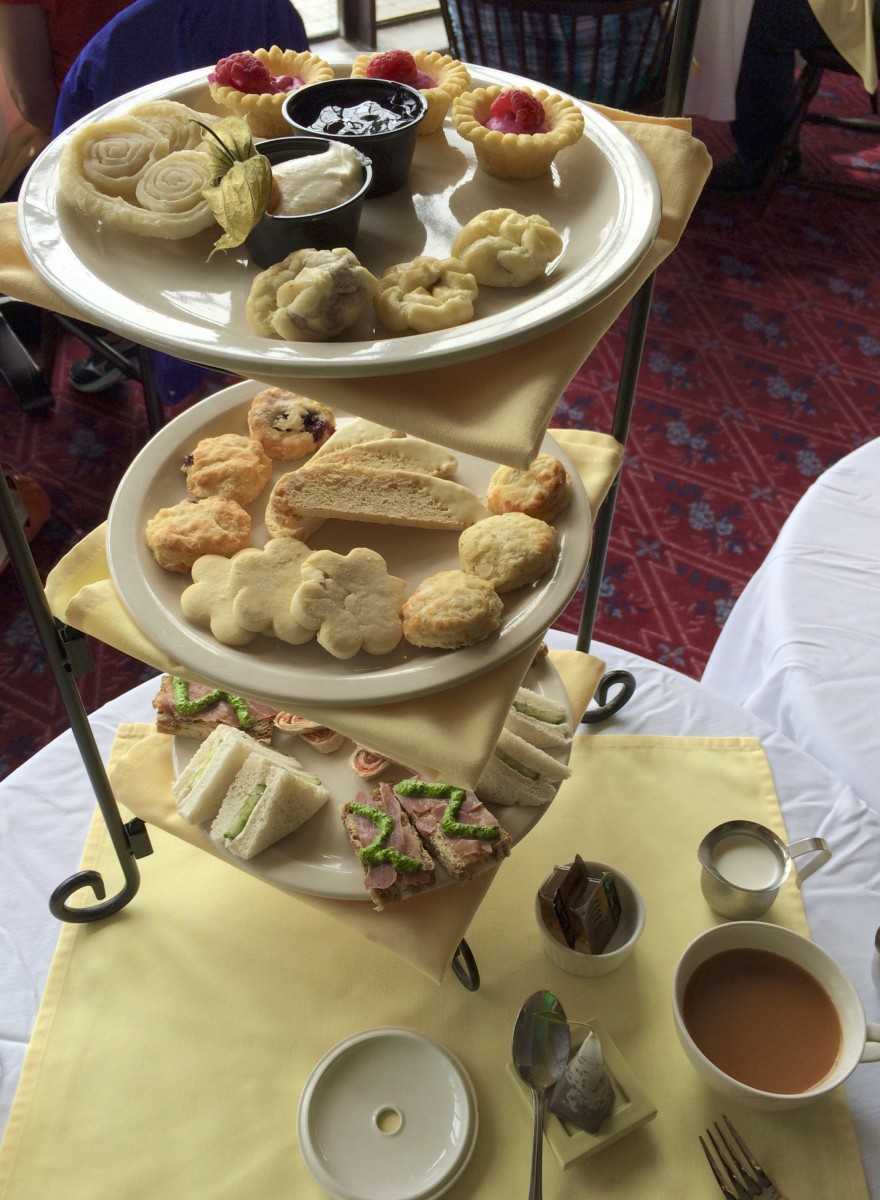afternoon tea across Canada - Take a break with scones, shortbread and cucumber sandwiches at the Prince of Wales Hotel. Photo by Catherine Parker
