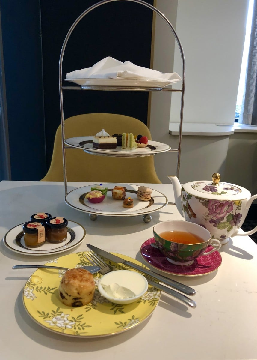 afternoon tea across Canada - With fun and flirty floral china, enjoy afternoon tea at Fairmont Queen Elizabeth Hotel in Montreal. Photo Credit: Catherine Parker