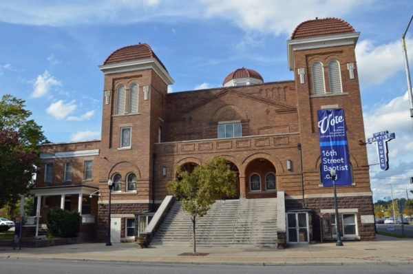 wow moments in Birmingham - 16th Street Baptist Church