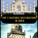 India is a birthplace of many religions and is blessed to have some of the world's best known architectural marvels. These destinations are even more interesting because of the history behind their construction or destruction. We bring you the top 7 historic destinations in India—a delight to discover! #travel #India #culturaltravel #architecture #history #historictravel #wowmoments