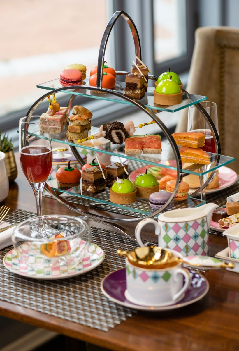 afternoon tea across Canada - Le Château Frontenac offers signature English china with a modern twist for its afternoon tea overlooking the St-Lawrence River. Courtesy Photo