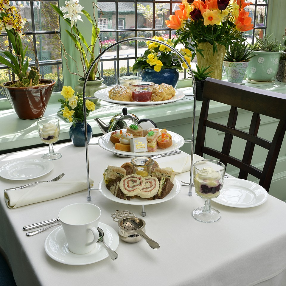 afternoon tea across Canada - Enjoy tea in the original family house at the Butchart Gardens. Photo courtesy Butchart Gardens