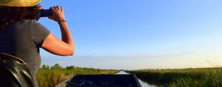 Exploring the Louisiana Bayous. Photo by Susan Lanier-Graham