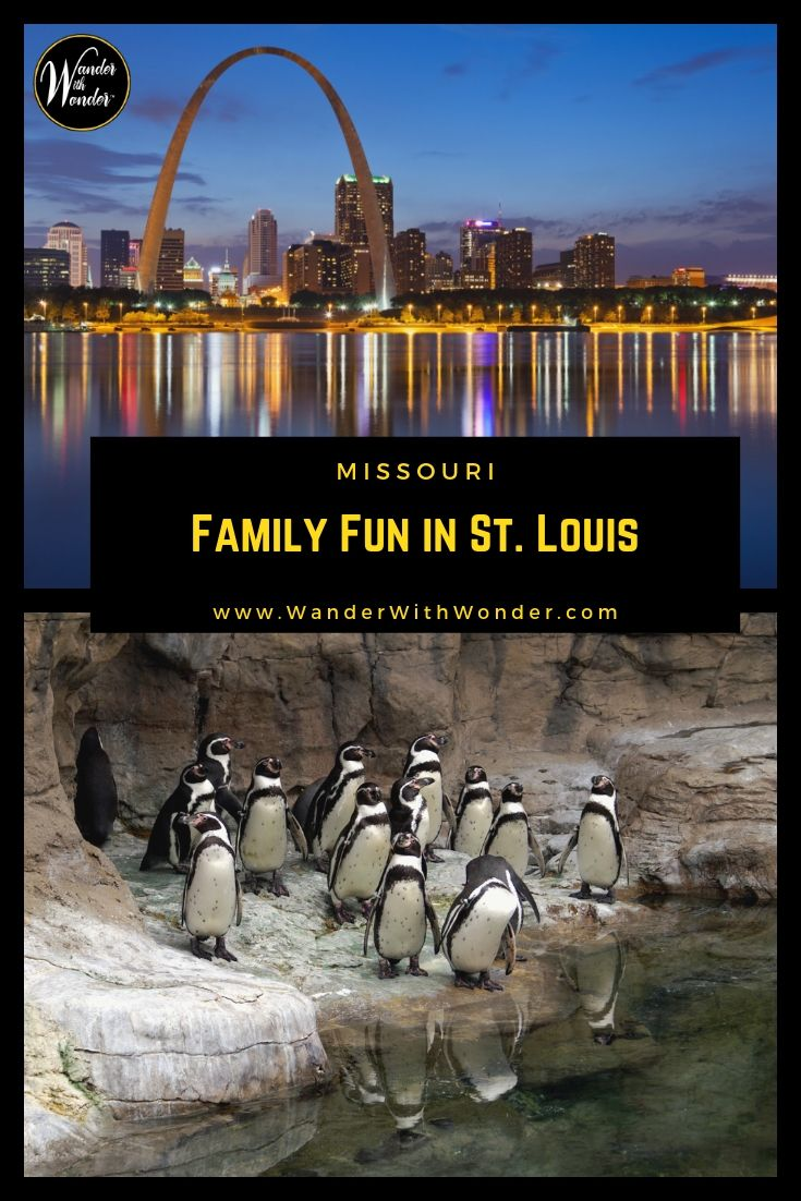 Discover great family fun in St. Louis—the Gateway City. It\'s full of fun and much of it is free or ideal for the family-friendly budget. #StLouis #Missour #FamilyTravel #USATravel #SummerTravel #SummerVacation