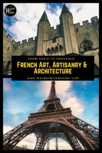 France offers a wealth of treasures, from fine art and fabulous artisanry to grandiose architectural feats. Enjoy the art and architecture of France. #france #paris #lyon #avignon #art #architecture #Travel #Europe