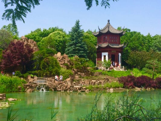 best gardens in North America - Stroll among countless themed gardens, like the Japanese and the Chinese gardens, in Montreal. Photo by Catherine Parker