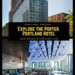 The Porter Portland Hotel, Curio Collection by Hilton, has a great downtown location, making it one of the best hotels in Portland. #luxury #hotels #Oregon #Portland #hotelsinportland #HiltonHotels