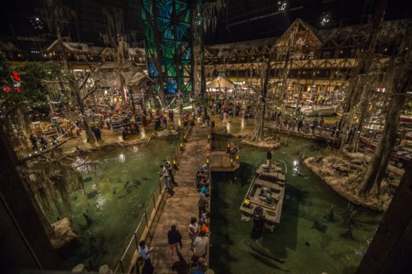 interior Bass Pro Shops at the Pyramid