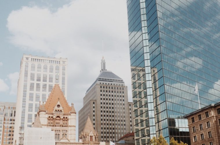 Explore Boston - a mix of old and new.