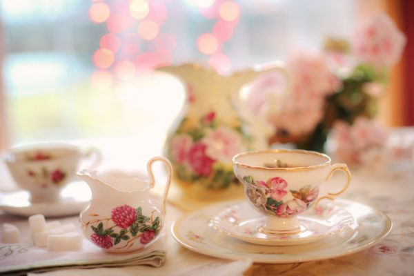 Afternoon tea is a lovely ritual for Anglophiles and tea lovers around the world. Photo courtesy Jill Wellington from Pixabay