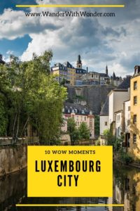 Luxembourg City may not be the first destination to come to mind when you're planning a European vacation, but it definitely deserves a spot on your itinerary. The city has a fascinating history as a strategic medieval fortress fought over and often invaded by neighboring countries such as France and Germany. It's also one of Europe's richest countries and the birthplace of the European Union. Here are our top 10 wow moments when you visit Luxembourg City. #Luxembourg #Europe #wowmoments