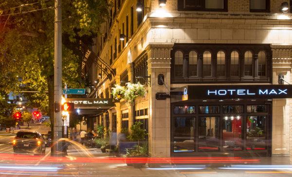 Hotel Max makes it easy to explore Seattle, Washington. Photo courtesy Hotel Max