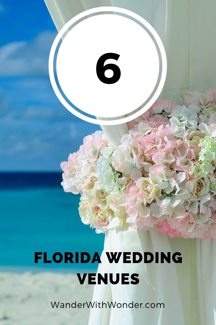 Florida is an absolutely dreamy place for a destination wedding. Warm weather, abundant sunshine, and beautiful natural scenery combine to make this state a popular place for couples looking to begin their life together in paradise. Here are six of the best Florida wedding venues to consider for your special day.