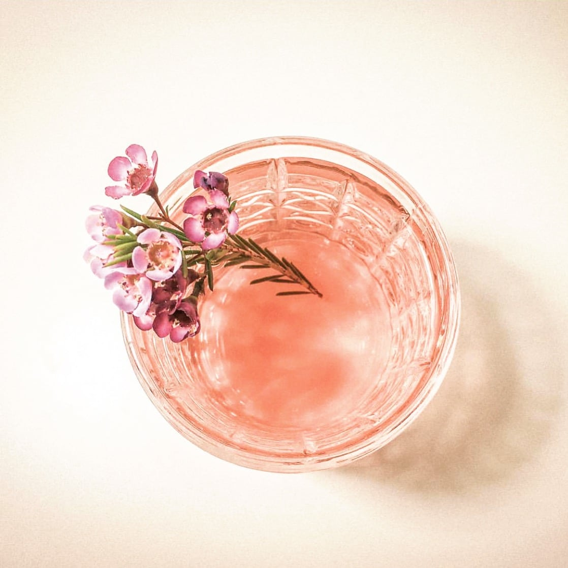 spring and summer cocktails - Maison Marcel rosé French Fashioned. Photo courtesy Maison Marcel