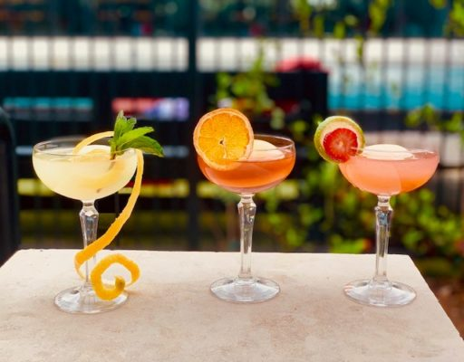 Poptail options at The George in College Station. Photo courtesy Valencia Hotel Group